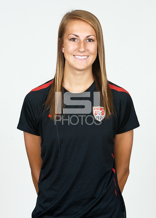 Carson, California - Thursday April 12, 2012: .USA Women's National Team U-20 Portraits.