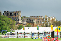 Beautiful backdrop: 2013 GBR-Chatsworth International Horse Trials. Friday 10 May. Copyright Photo: Libby Law Photography
