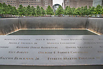 USA, New York, Manhattan, 9/11 Memorial at The World Trade Center