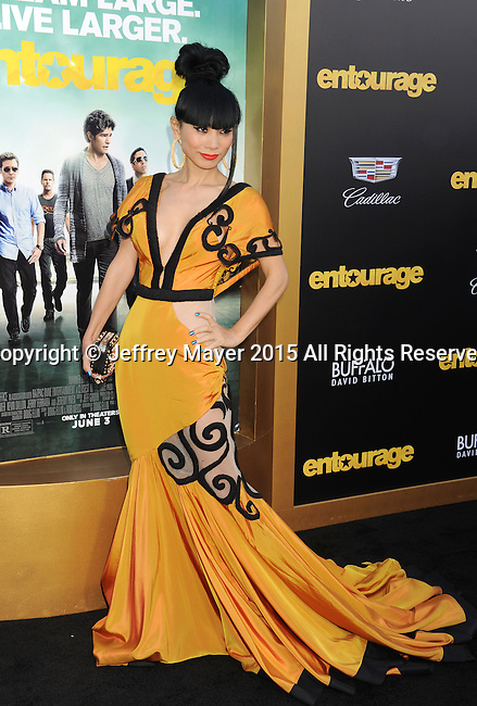 WESTWOOD, CA - JUNE 01: Actress Bai Ling arrives at the 'Entourage' - Los Angeles Premiere at Regency Village Theatre on June 1, 2015 in Westwood, California.