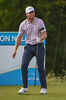 Lucas Bjerregaard (DEN) watches his tee shot on 15 during the round 1 of the AT&amp;T Byron Nelson, Trinity Forest Golf Club, Dallas, Texas, USA. 5/9/2019.<br /> Picture: Golffile | Ken Murray<br /> <br /> <br /> All photo usage must carry mandatory copyright credit (&copy; Golffile | Ken Murray)