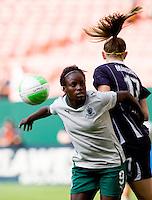 Eniola Aluko, Nikki Marshall.  The Washington Freedom defeated the Saint Louis Athletica, 3-1.