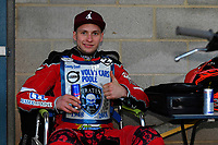 Kacper Woryna of Poole Pirates during Poole Pirates vs Belle Vue Aces, Elite League Speedway at The Stadium on 11th April 2018