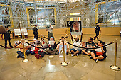Friends and family who have lost loved ones to gun violence stage a sit-in in the rotunda of the U.S. Capitol Building in Washington, DC as lawmakers return after the Fourth of July Recess on Tuesday, July 5, 2016. Protesters called on Congress to take real votes on common sense solutions to gun violence, including universal background checks, and an assault weapon and high-capacity magazine ban.<br /> Credit: Ron Sachs / CNP