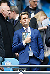 Crystal Palace owner Steve Parish during the English Premier League match at the Etihad Stadium, Manchester. Picture date: May 6th 2017. Pic credit should read: Simon Bellis/Sportimage