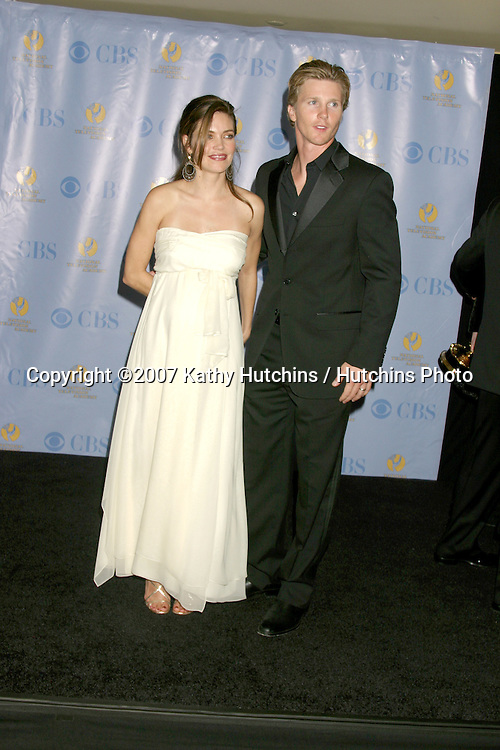 Amelia Heinle & Thad Luckinbill.Daytime Emmys 2007.Kodak Theater.Los Angeles, CA.June 15, 2007.©2007 Kathy Hutchins / Hutchins Photo....