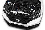 Car Stock 2014 Honda CR-V Lifestyle 5 Door Suv Engine  high angle detail view