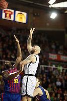 Jawai vs Rakovic. FC Barcelona Regal vs Uxue Bilbao Basket