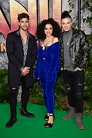 The Cutkelvins at the &quot;Jumanji: Welcome to the Jungle&quot; premiere at the Vue West End, Leicester Square, London, UK. <br /> 07 December  2017<br /> Picture: Steve Vas/Featureflash/SilverHub 0208 004 5359 sales@silverhubmedia.com