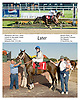 Later winning at Delaware Park on 10/2/06