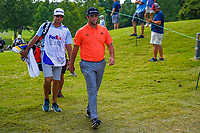 Jon Rahm (ESP) heads to the tee on 10 during round 3 of the WGC FedEx St. Jude Invitational, TPC Southwind, Memphis, Tennessee, USA. 7/27/2019.<br /> Picture Ken Murray / Golffile.ie<br /> <br /> All photo usage must carry mandatory copyright credit (© Golffile | Ken Murray)