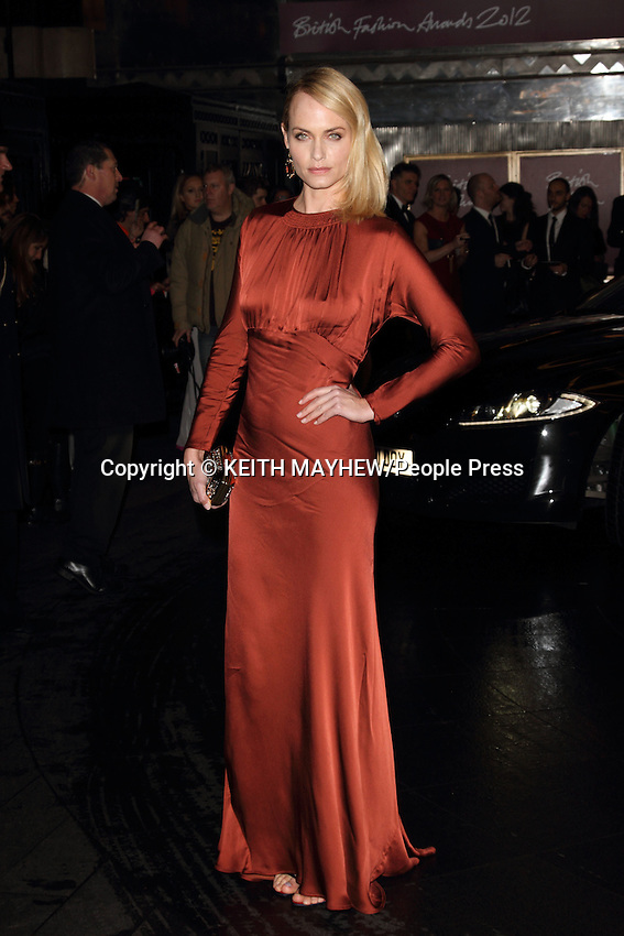 London - British Fashion Awards - Outside arrivals at the Savoy Hotel, The Strand, London - November 27th 2012..Photo by Keith Mayhew