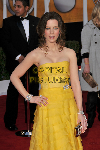 Kate Beckinsale attends The 14th annual Screen Actors Guild Awards (SAG Awards)  held at Shrine Auditorium, Los Angeles, California on January 27, 2008. Copyright 2007 Debbie VanStory/RockinExposures/ /