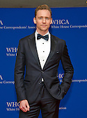 Actor Tom Hiddleston arrives for the 2016 White House Correspondents Association Annual Dinner at the Washington Hilton Hotel on Saturday, April 30, 2016.<br /> Credit: Ron Sachs / CNP<br /> (RESTRICTION: NO New York or New Jersey Newspapers or newspapers within a 75 mile radius of New York City)
