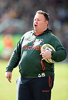 Leicester Tigers Head Coach Matt O'Connor. Aviva Premiership match, between Leicester Tigers and Wasps on March 25, 2018 at Welford Road in Leicester, England. Photo by: Patrick Khachfe / JMP