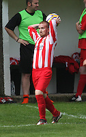 Ross Drysdale in the Huntly v Wigtown & Bladnoch William Hill Scottish Cup 1st Round match, at Christie Park, Huntly on 25.8.12.