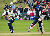 Image courtesy of Cricket Scotland - Arbroath V Clydesdale — Citylets Scottish Cup Final at West of Scotland - Con de Lange and Zulfikar Shahid - for further information please contact Ben Fox, Cricket Scotland, on 07825 172 348 - picture by Donald MacLeod - 21.08.16 - 07702 319 738 - clanmacleod@btinternet.com - www.donald-macleod.com