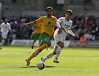 Pictured: Jordi Gomez of Swansea City in action<br /> Re: Coca Cola Championship, Swansea City FC v Norwich City FC at the Liberty Stadium Swansea, south Wales. Saturday 11 April 2009.<br /> Picture by D Legakis Photography / Athena Picture Agency, Swansea 07815441513