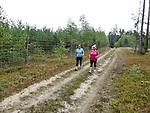 Miłomłyn 22.08.2013. Nordic walking w mazurskich lasach