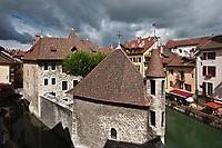 Europe/France/Rhône-Alpes/74/Haute-Savoie/Annecy: le Palais de l'Ile sur le Thiou