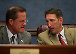 Nevada Senators Mark Hutchison, left, and Scott Hammond, both R-Las Vegas, work in committee at the Nevada Legislature in Carson City, Nev., on Monday, March 4, 2013..Photo by Cathleen Allison