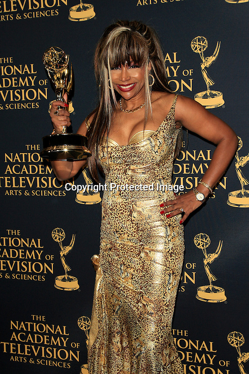 LOS ANGELES - APR 24: Outstanding Hairstyling, Patricia Cuthbert at The 42nd Daytime Creative Arts Emmy Awards Gala at the Universal Hilton Hotel on April 24, 2015 in Los Angeles, California