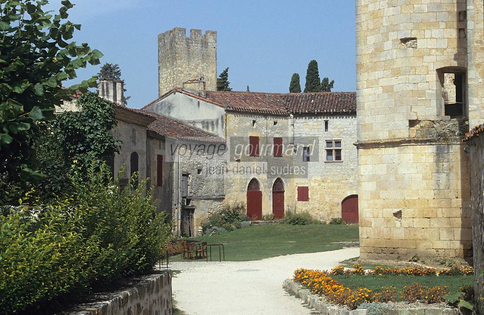 Europe/France/Midi-Pyrénées/32/Gers/Cassaigne: Le chateau