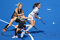 Tiphaine Duquesne during the Pro League Hockey match between the Blacksticks Women and Belgium, National Hockey Arena, Auckland, New Zealand, Sunday 2 February 2020. Photo: Simon Watts/www.bwmedia.co.nz