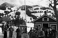 Le ski a la  montagne en Allemagne,entre 1932 et 1935<br /> <br /> Skiing in German mountain between 1932 ans 1935
