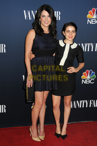 16 September 2014 - West Hollywood, California - Lauren Graham, Mae Whitman. NBC and Vanity Fair 2014-2015 TV Season Event held at Hyde Sunset Kitchen.  <br /> CAP/ADM/BP<br /> &copy;Byron Purvis/AdMedia/Capital Pictures