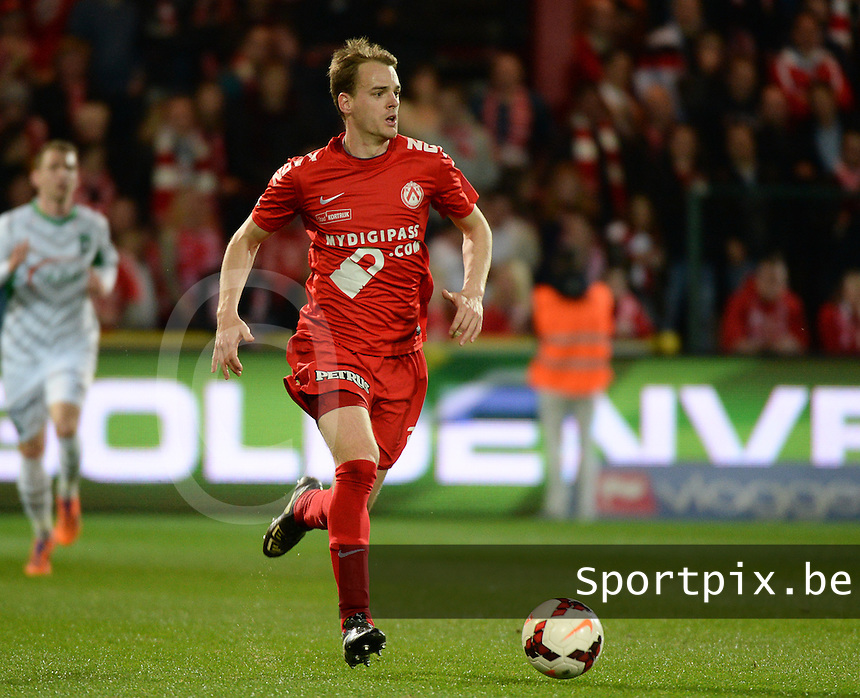 KV Kortrijk - Cercle Brugge : Brecht Capon <br /> foto VDB / BART VANDENBROUCKE