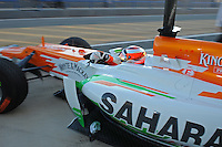 JULES BIANCHI (FRA) TEST DRIVER FORCE INDIA .Formula 1: Test Jerez 08/02/2012.Foto Insidefoto / Gilles Levent / PanoramiC.ITALY ONLY