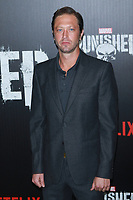 NEW YORK, NY - NOVEMBER 06: Ebon Moss-Bachrach at  'Marvel's The Punisher' New York premiere at AMC Loews 34th Street 14 theater on November 6, 2017 in New York City. <br /> CAP/MPI99<br /> &copy;MPI99/Capital Pictures