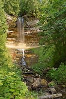 Munising Falls, Pictured Rocks National Lake Shore, Munising, Michigan