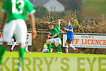 Jessie Stafoird Lacey Ireland Captain in Action against Estonia U-16 International friendly at Pat Kennedy PArk Listowel on Tuesday