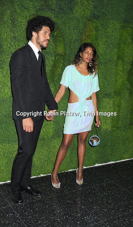singer M.I.A  and Benjamin Brewer..arriving at The Museum of Modern Art's 40th Annual Party in the Garden on June 10, 2008 in New York City. ....Robin Platzer, Twin Images