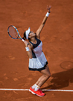 Paris, France, 4 June, 2017, Tennis, French Open, Roland Garros, Garbine Muguruza (ESP)<br /> Photo: Henk Koster/tennisimages.com