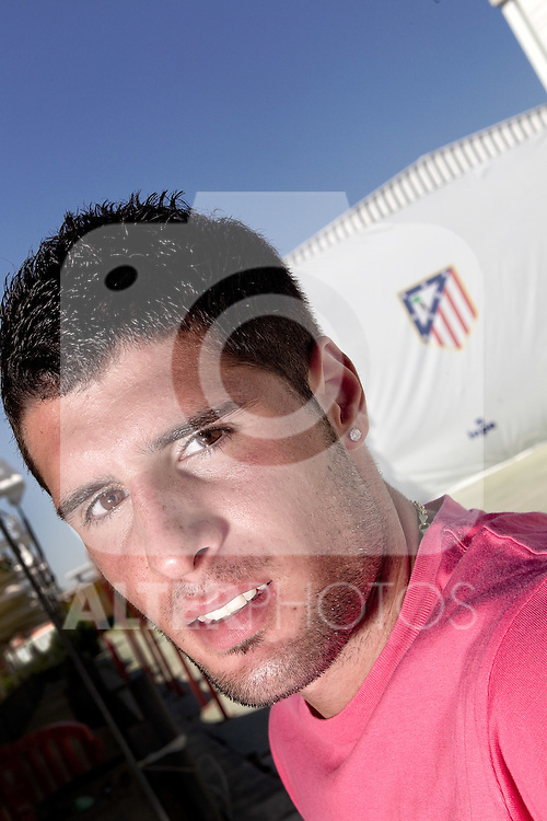 Atletico de Madrid's Fran Merida during interview. July 28, 2010. (ALTERPHOTOS/Alvaro Hernandez)