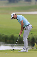 Scott Fernandez (ESP) putts on the 15th green during Saturday's Round 3 of the Porsche European Open 2018 held at Green Eagle Golf Courses, Hamburg Germany. 28th July 2018.<br /> Picture: Eoin Clarke | Golffile<br /> <br /> <br /> All photos usage must carry mandatory copyright credit (&copy; Golffile | Eoin Clarke)