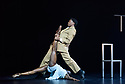 "Ballet Black presents a double bill of ""The Suit"", choreographed by Cathy Marston, and ""A Dream Within A Midsummer Night's Dream"", choreographed by Arthur Pita, in the Barbican theatre. Shown here is: ""The Suit"". Picture shows: Cira Robinson (Matilda), Mthuthuzeli November (Simon)."