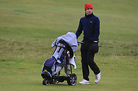 Darren Leufer (Athenry) on the 12th fairway during Round 2 of the Ulster Boys Championship at Portrush Golf Club, Portrush, Co. Antrim on the Valley course on Wednesday 31st Oct 2018.<br /> Picture:  Thos Caffrey / www.golffile.ie<br /> <br /> All photo usage must carry mandatory copyright credit (&copy; Golffile | Thos Caffrey)