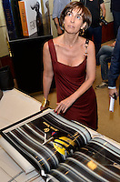 """ATENÇÃO EDITOR FOTO EMBARGADA PARA VEÍCULOS INTERNACIONAIS - SAO PAULO, SP, 22 DE NOVEMBRO DE 2012 – LANÇAMENTO DO LIVRO OFICIAL DA F1: Viviane Senna durante lançamento do livro """"Formula 1™ Opus"""" no Brasil, livro oficial da Fórmula 1™, e anúncio da joint venture firmada entre as editoras Toriba Editora e a Opus (UK) na noite desta quinta feira (22) no Hotel Transamerica em São Paulo . FOTO: LEVI BIANCO - BRAZIL PHOTO PRESS"""