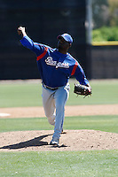 Jorge Quintero  - Texas Rangers - 2009 spring training.Photo by:  Bill Mitchell/Four Seam Images