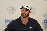 Dustin Johnson (USA) during the preview at the WGC Dell Technologies Matchplay championship, Austin Country Club, Austin, Texas, USA. 21/03/2017.<br /> Picture: Golffile | Fran Caffrey<br /> <br /> <br /> All photo usage must carry mandatory copyright credit (&copy; Golffile | Fran Caffrey)