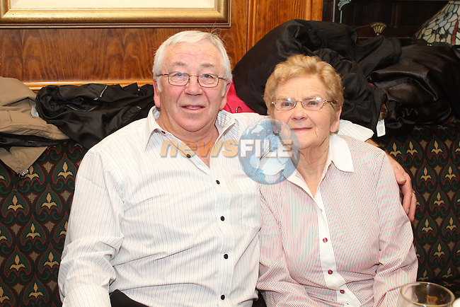 Michael Hussey with his mother, Rita at his surprise 60th in the Market Bar...(Photo credit should read Jenny Matthews www.newsfile.ie)....This Picture has been sent you under the condtions enclosed by:.Newsfile Ltd..The Studio,.Millmount Abbey,.Drogheda,.Co Meath..Ireland..Tel: +353(0)41-9871240.Fax: +353(0)41-9871260.GSM: +353(0)86-2500958.email: pictures@newsfile.ie.www.newsfile.ie.