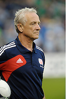 Jay Miller New England Revolution Assistant Coach... Sporting Kansas City defeated New England Revolution 3-0 at LIVESTRONG Sporting Park, Kansas City, Kansas.