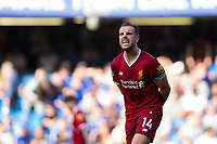 Liverpool's Jordan Henderson reacts <br /> <br /> Photographer Craig Mercer/CameraSport<br /> <br /> The Premier League - Chelsea v Liverpool - Sunday 6th May 2018 - Stamford Bridge - London<br /> <br /> World Copyright &copy; 2018 CameraSport. All rights reserved. 43 Linden Ave. Countesthorpe. Leicester. England. LE8 5PG - Tel: +44 (0) 116 277 4147 - admin@camerasport.com - www.camerasport.com