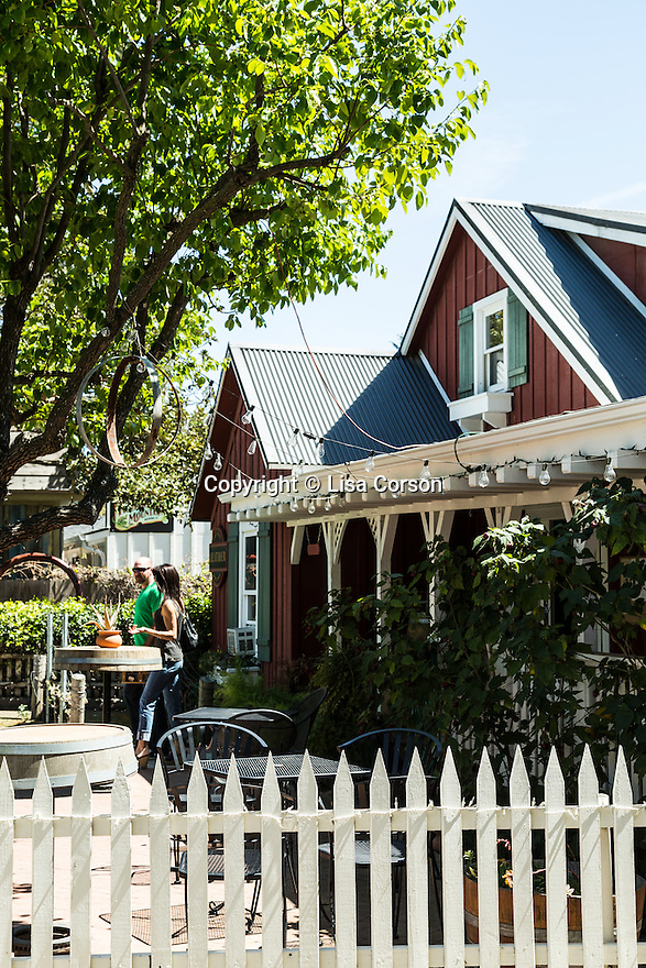 Stolpman Vineyards tasting room in Los Olivos, California.
