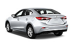 Car pictures of rear three quarter view of 2017 Mazda Mazda3 Sport 4 Door Sedan Angular Rear