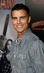 "HOLLYWOOD, CA. - September 23: Colin Egglesfield arrives at the Los Angeles premiere of ""Zombieland"" at Grauman's Chinese Theatre on September 23, 2009 in Hollywood, California."